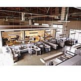 Office, Workplace, Open Plan Office
