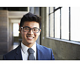 Man, Businessman, Asian Ethnicity