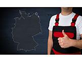 Handwerk, Deutschland, Daumen Hoch
