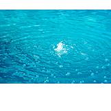 Wasser, Wasserblasen, Wasserringe
