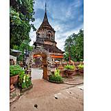 Buddhismus, Chedi, Wat Lok Moli