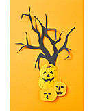 Halloween, Craft, Invitation Card