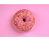 Sugar crumbles, Donut