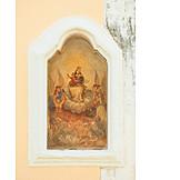 Religion, Wandmalerei, Presicce