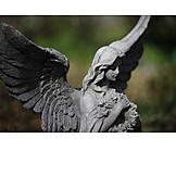 Friedhof, Engel, Trauer