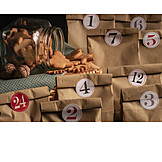 Paper bag, Advent calendar