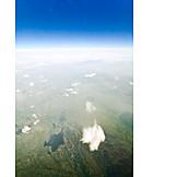 Luftaufnahme, Norwegen