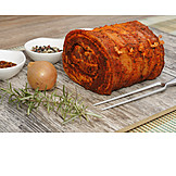 Rollbraten, Fleischgericht
