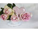 Rose, Herz, Muttertag