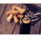 Wine, Wine Bottle, Cork