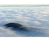 Clouds, Fog cover, Fog