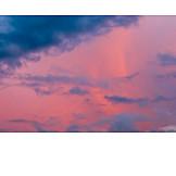 Sky, Sunset, Overcast