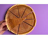 Dessert, Kürbiskuchen