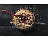 Himbeerkuchen, Dessert