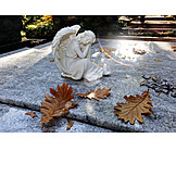 Friedhof, Grab, Grabengel