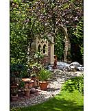 Garden decoration, Garden design