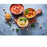 Orientalische Küche, Vegan, Hummus