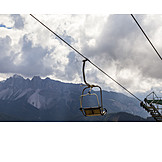 Dolomites, Chairlift