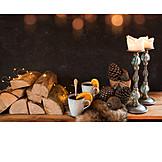 Winterlich, Heißgetränk, Glühwein