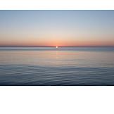 Sunrise, Horizon, Sea