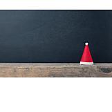 Textfreiraum, Weihnachten, Nikolausmütze