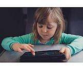 Girl, Online, Tablet-pc