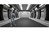 Research, Robot, Cybernetics
