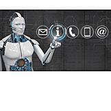 Kommunikation, Roboter, Künstliche Intelligenz, Chatbots