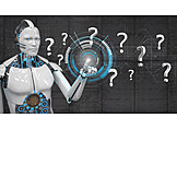 Research, Question Mark, Artificial Intelligence