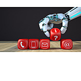 Mobile Kommunikation, Kontakt, Chatbots