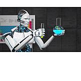 Genforschung, Dna, Kybernetik