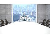 Office, Future, Robot