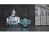 Forschung, Maschinenbau, Industrie 4.0