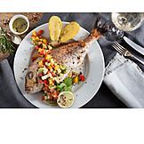Fischgericht, Festessen
