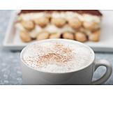 Milk Foam, Cappuccino, Tiramisu