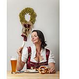 Essen, Bayrische Küche, Weißwurst