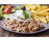 Griechische Küche, Gyros