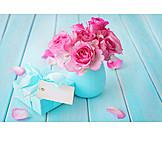 Birthday, Gift, Rose Bouquet