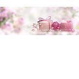 Geschenk, Muttertag, Rosenseife