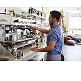 Preparation, Barista, Coffee Bar