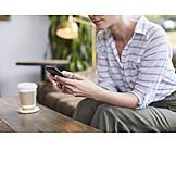 Mobile Kommunikation, Online, Smartphone