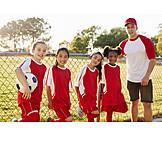 Girl, Soccer, Team