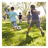 Fußball, Spielen, Freunde