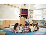 Children, Preschool, Storytelling, Children Gardener