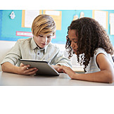 Learning, School Children, Tablet-pc
