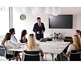 Meeting, Listening, Business Person, Presentation