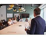 Boss, Presentation, Team Meeting