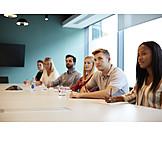 Meeting, Attentive, Notes, Seminar