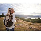 Woman, Hike