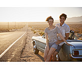 Love Couple, Honeymoon, Roadtrip